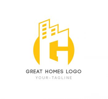 Great Homes Logo & Business Card Template