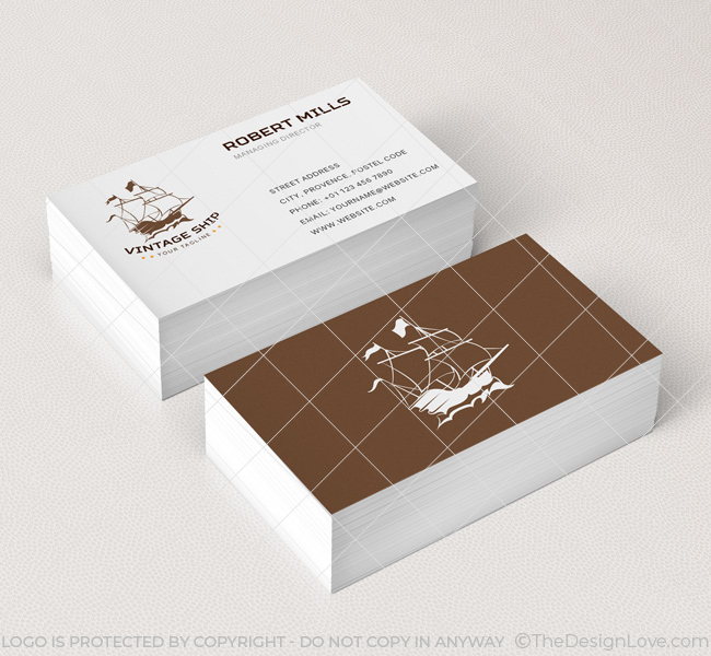 Vintage-Ship-Business-Card-Mockup