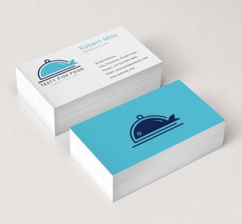 Restaurant nightclub logos archives the design love fish food logo business card template colourmoves