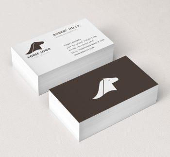 Horse-Head-Business-Card-Mockup