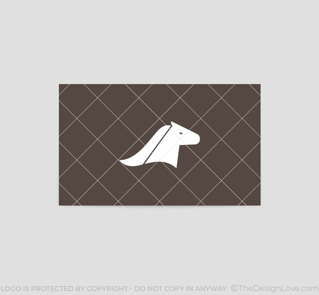 Horse-Head-Business-Card-Template-Back