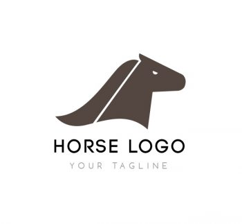 Horse Head Logo & Business Card Template