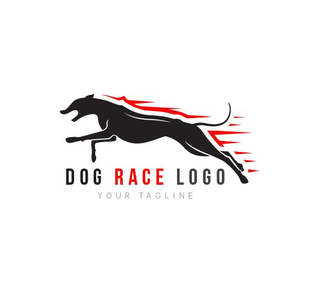 Dog Race Logo