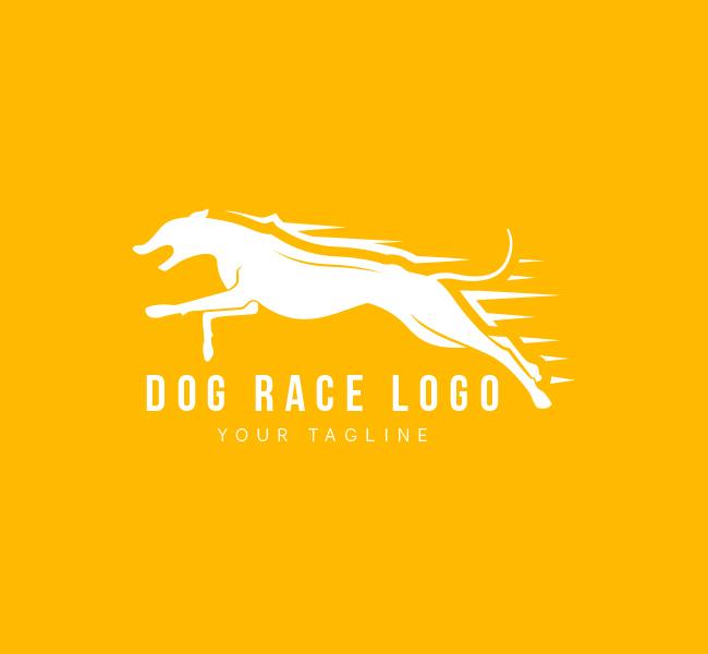 Pre-Made-Dog-Race-Logo