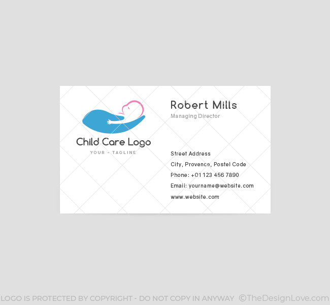 Baby-Care-Business-Card-Template-Front