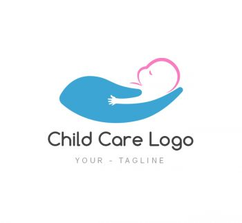 Baby Care Logo & Business Card Template