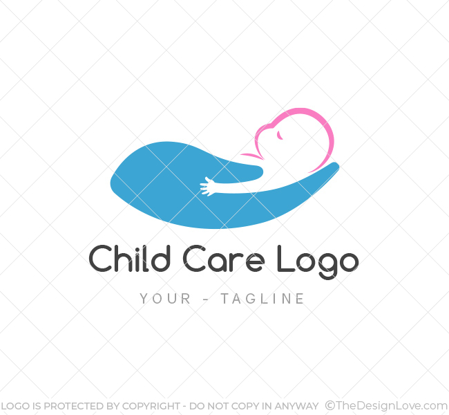 Baby Care Logo amp Business Card Template The Design Love