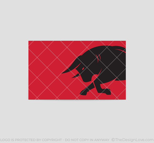 Charging-Bull-Business-Card-Template-Back