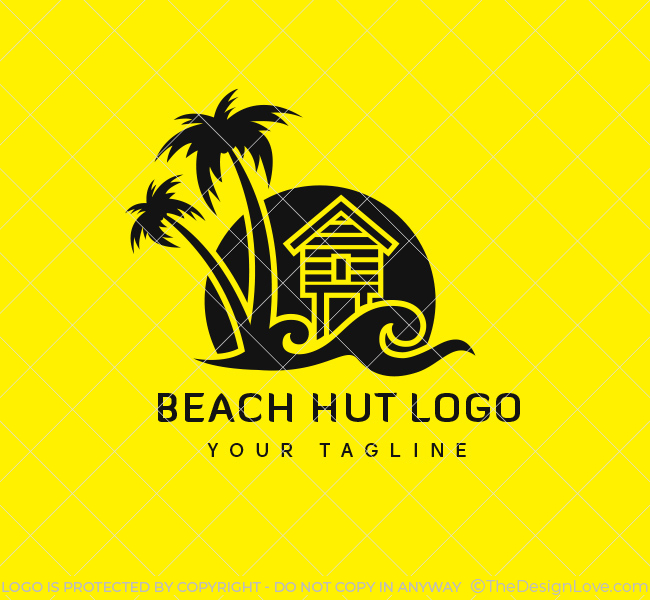 Ready-Logo-Beach-Hut-Black