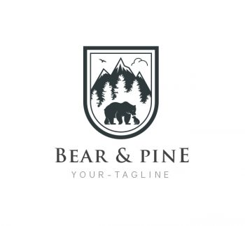 Bear Logo & Business Card Template