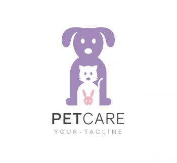 Pet Care Logo & Business Card Template