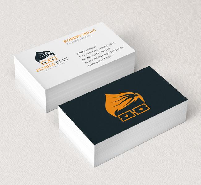 Mobile Geek Logo & Business Card Template The Design Love
