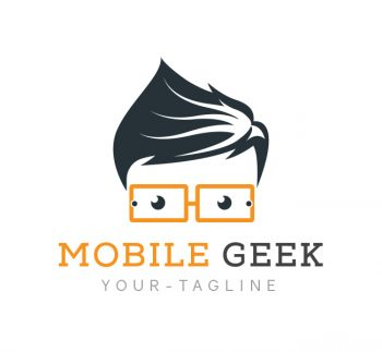 Mobile Geek Logo & Business Card Template
