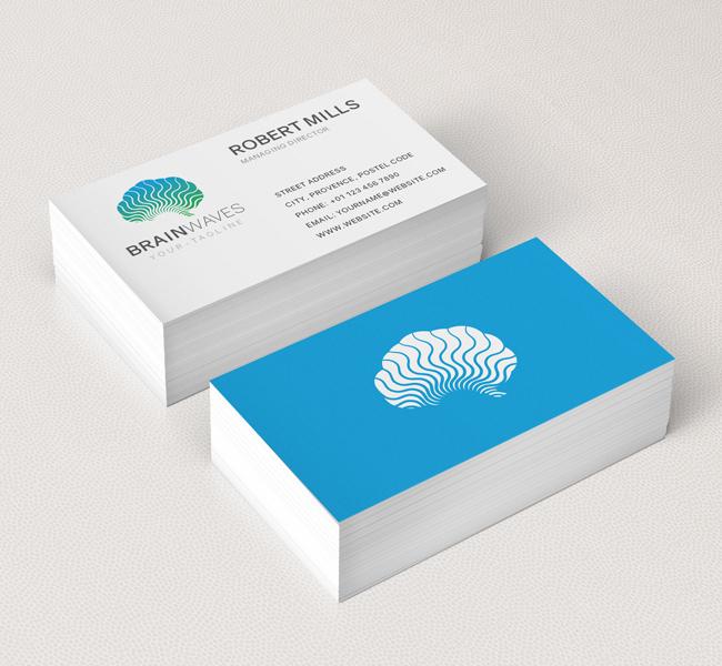 Brain-Waves-Business-Card-Mockup