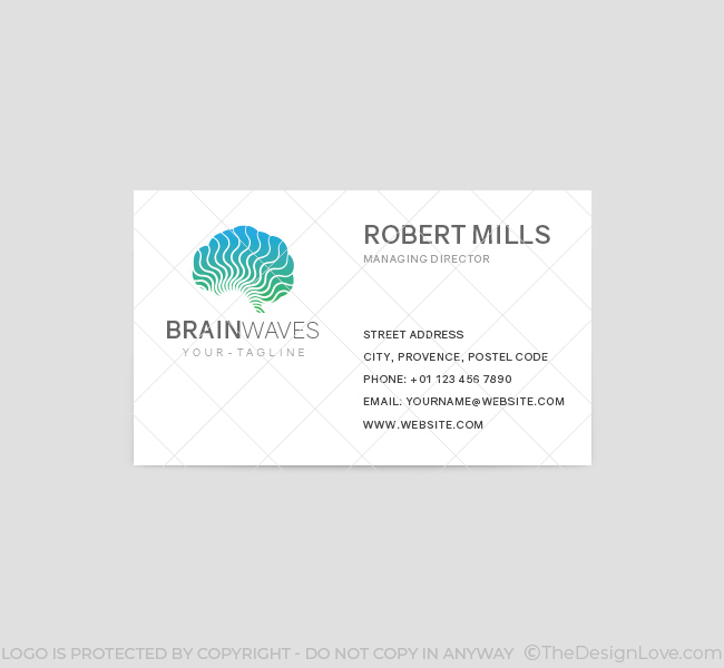 Brain-Waves-Business-Card-Template-Front