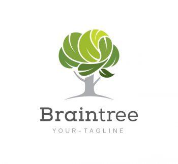 Brain Tree Logo & Business Card Template