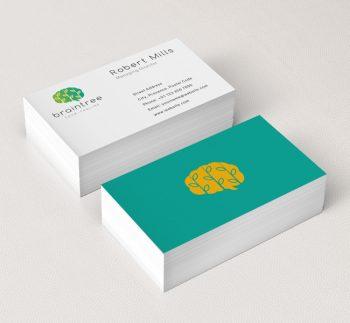 Brain-Leaf-Business-Card-Mockup