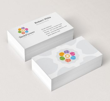 Abstract-Flower-Business-Card-Mockup