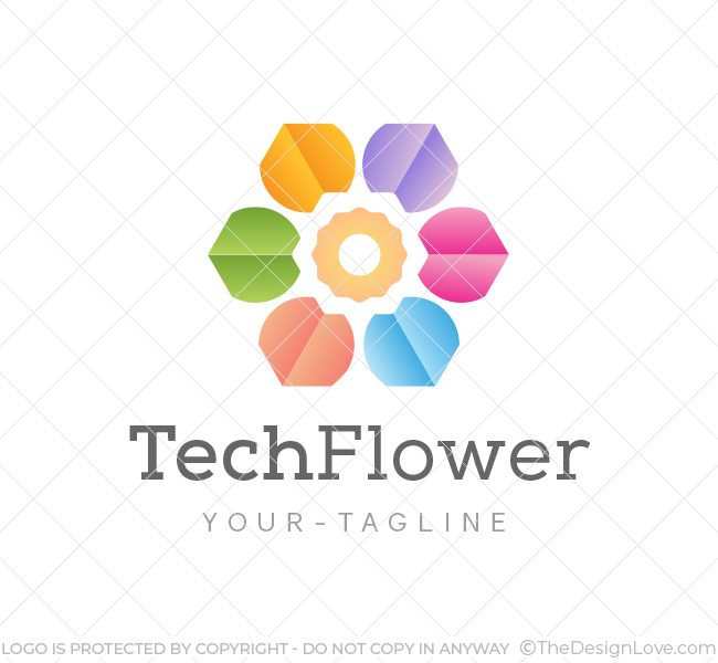 Abstract-Flower-Logo