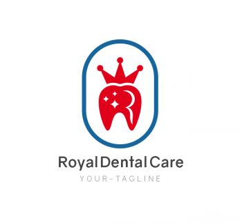 Royal Dental Care Logo & Business Card Template