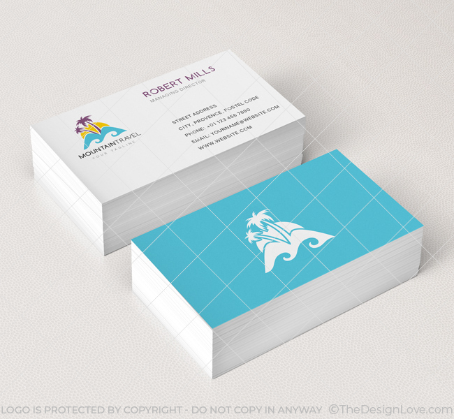 Travel business card image collections business card template mountain travel logo business card template the design love mountain travel business card mockup colourmoves image accmission Image collections