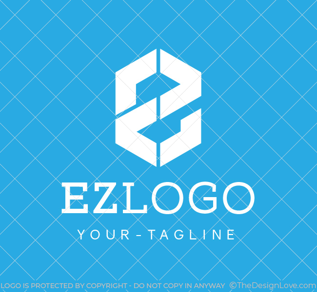 Pre-Made-EZ-Logo-White