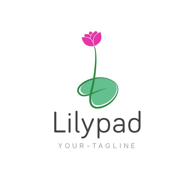 lilypad logo business card template the design love