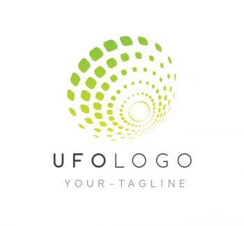 UFO Logo & Business Card Template