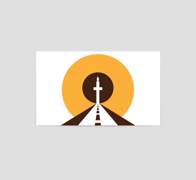 Faith-Road-Prayers-Business-Card-Template-Back