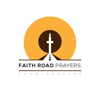 Faith Road Prayers Logo & Business Card Template