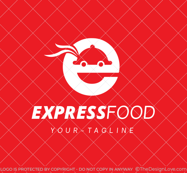 Pre-Designed-Logo-Express-Food-Delivery-White