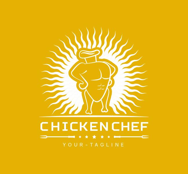 Pre-Made-Chicken-Chef-Logo-White-01