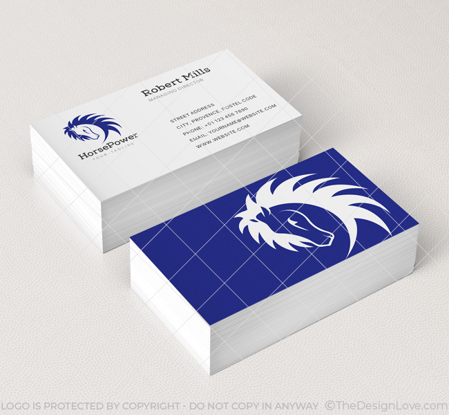 Horse-Power-Business-Card-Mockup