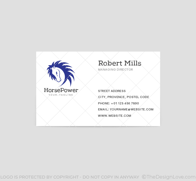 Horse-Power-Business-Card-Template-Front