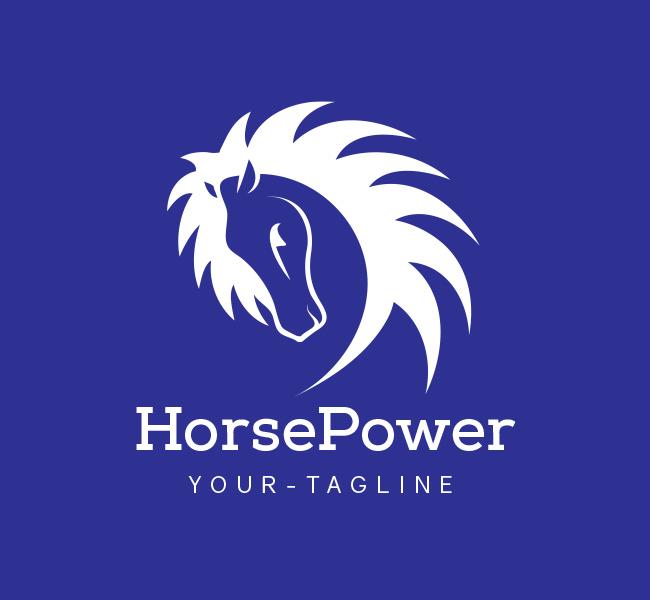 Horse Power Logo Business Card Template The Design Love