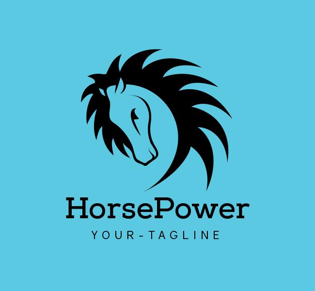 Ready-Logo-Horse-Power-Black