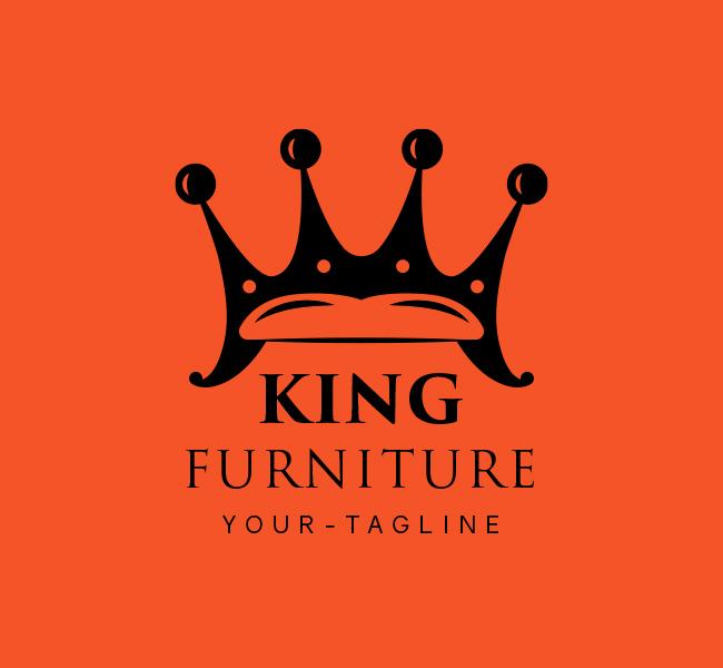 Ready-Logo-King-Furniture-Black
