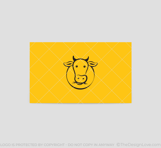Green-Cow-Business-Card-Template-Back
