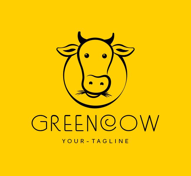 Ready-Logo-Green-Cow--Black
