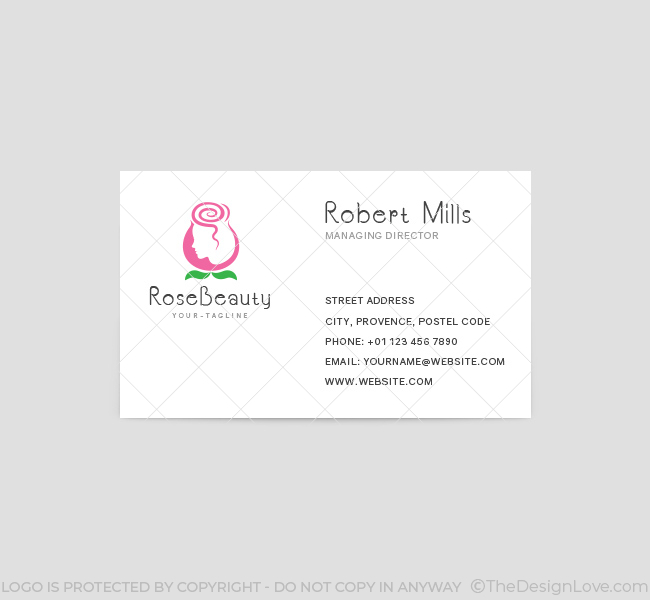 Rose-Beauty-Parlour-Business-Card-Template-Front