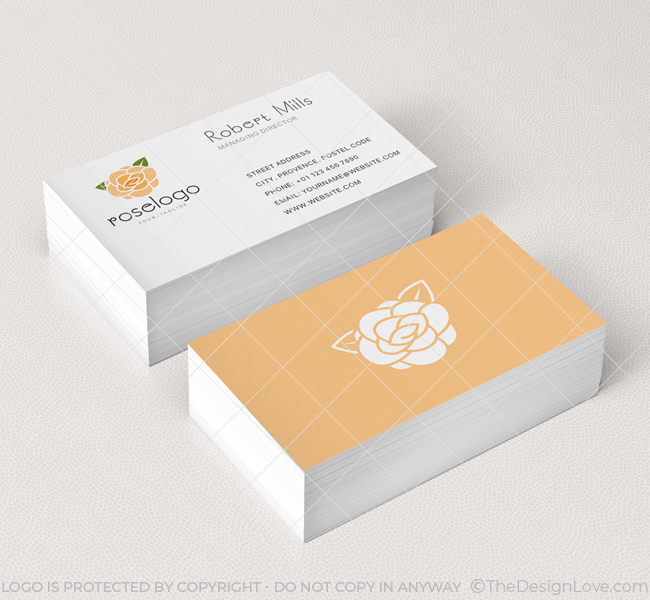 Rose-Business-Card-Mockup