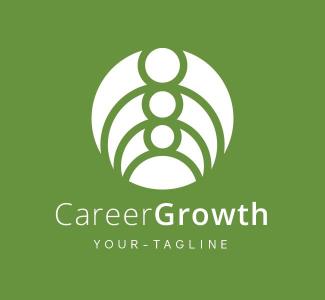 Pre-Made-Career-Growth-Logo-White