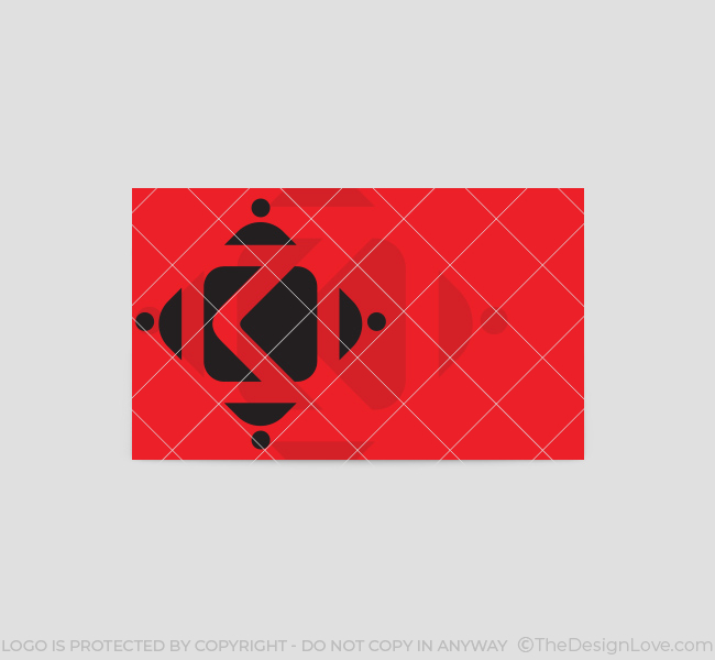 K-Letter-Business-Card-Template-Back