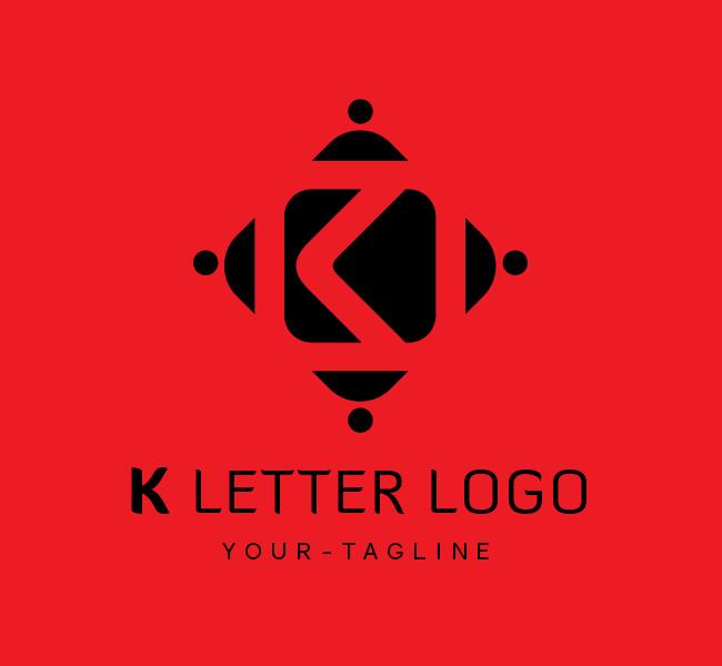 Ready-Logo-K-Letter-Black