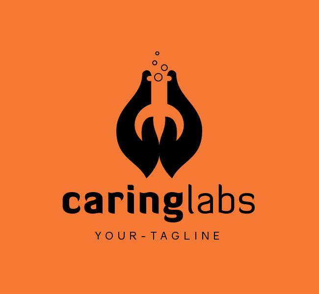 Ready-Logo-Caring-Lab-Black