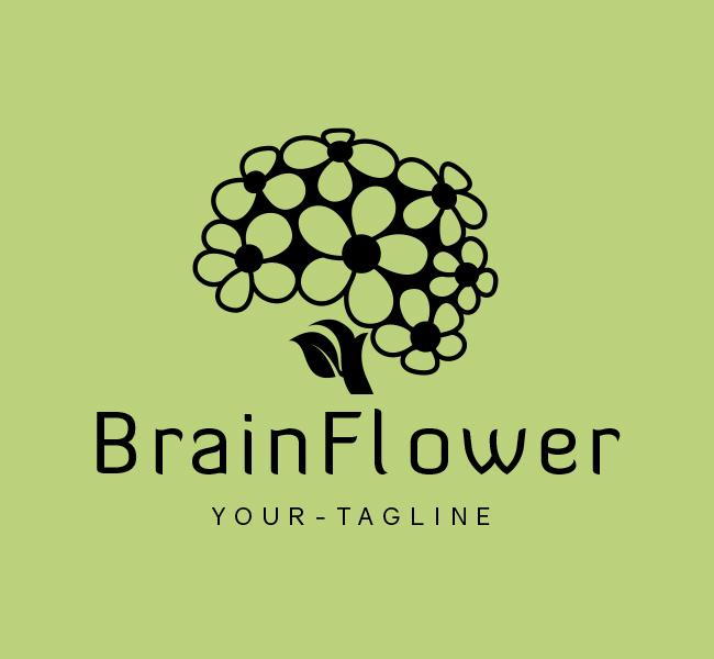 Ready-Logo-Brain-Flower-Black