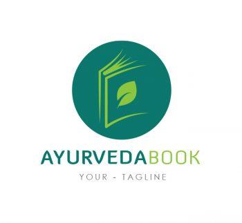 Ayurveda Book Logo & Business Card Template