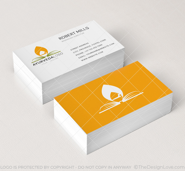 143-Ayurveda-Business-Card-Mockup