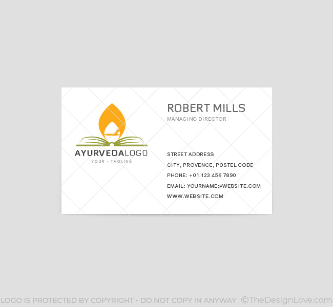 143-Ayurveda-Business-Card-Template-Front