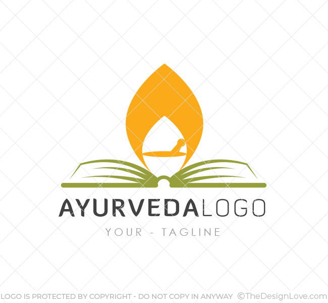 Ayurveda logo business card template the design love ayurveda logo template reheart
